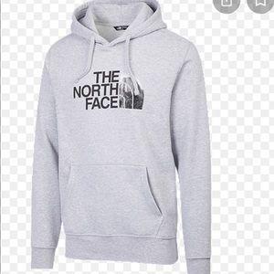 Northface pullover grey hoodie